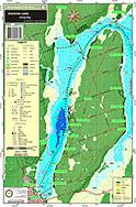 lake scugog fishing map Waterproof Printed Individual Chart Of Lake Scugog In Kawartha lake scugog fishing map
